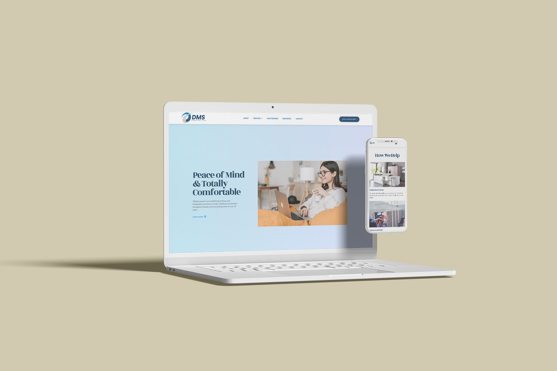 DMS - Creative Partner website client