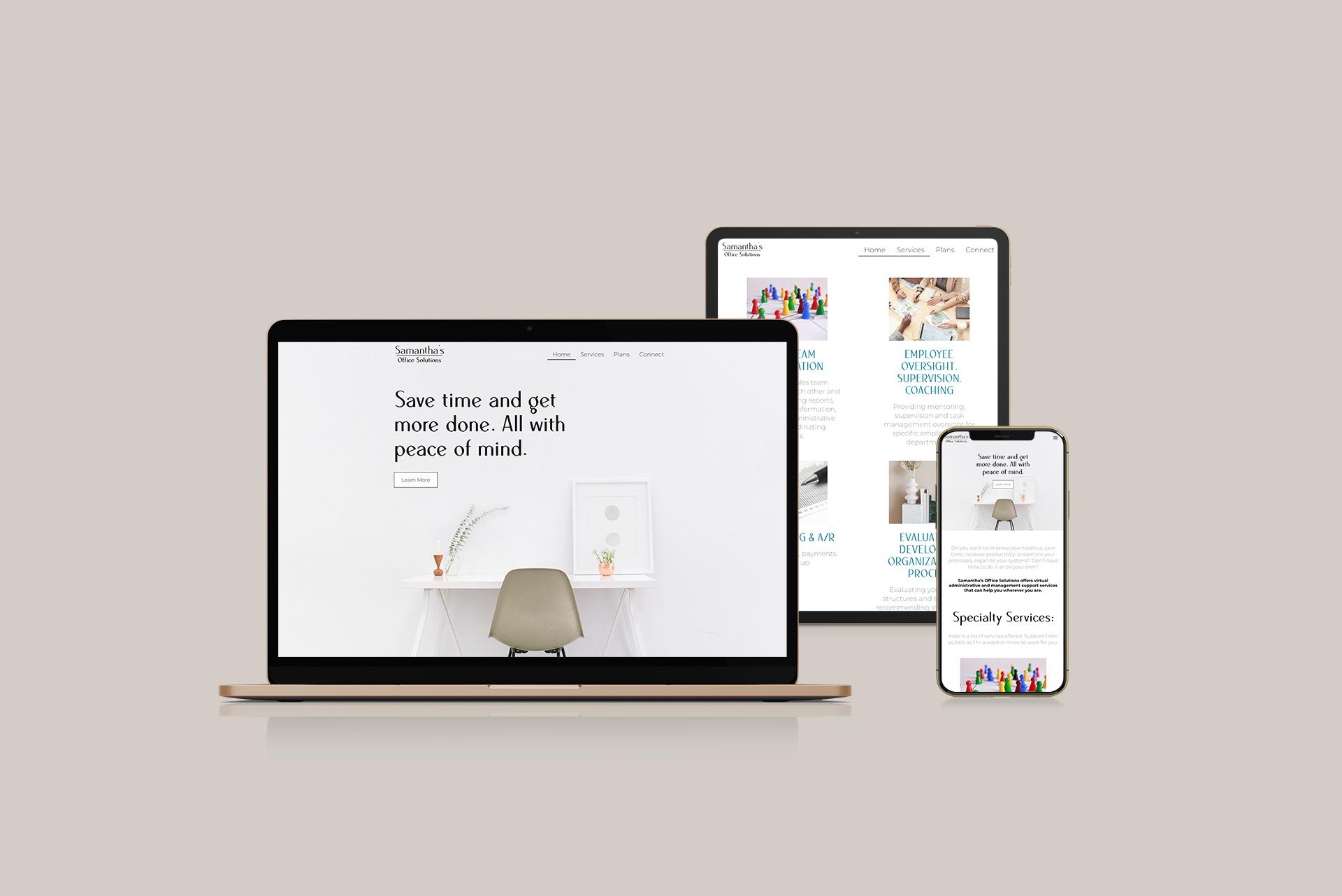 SOS - Creative Partner website client