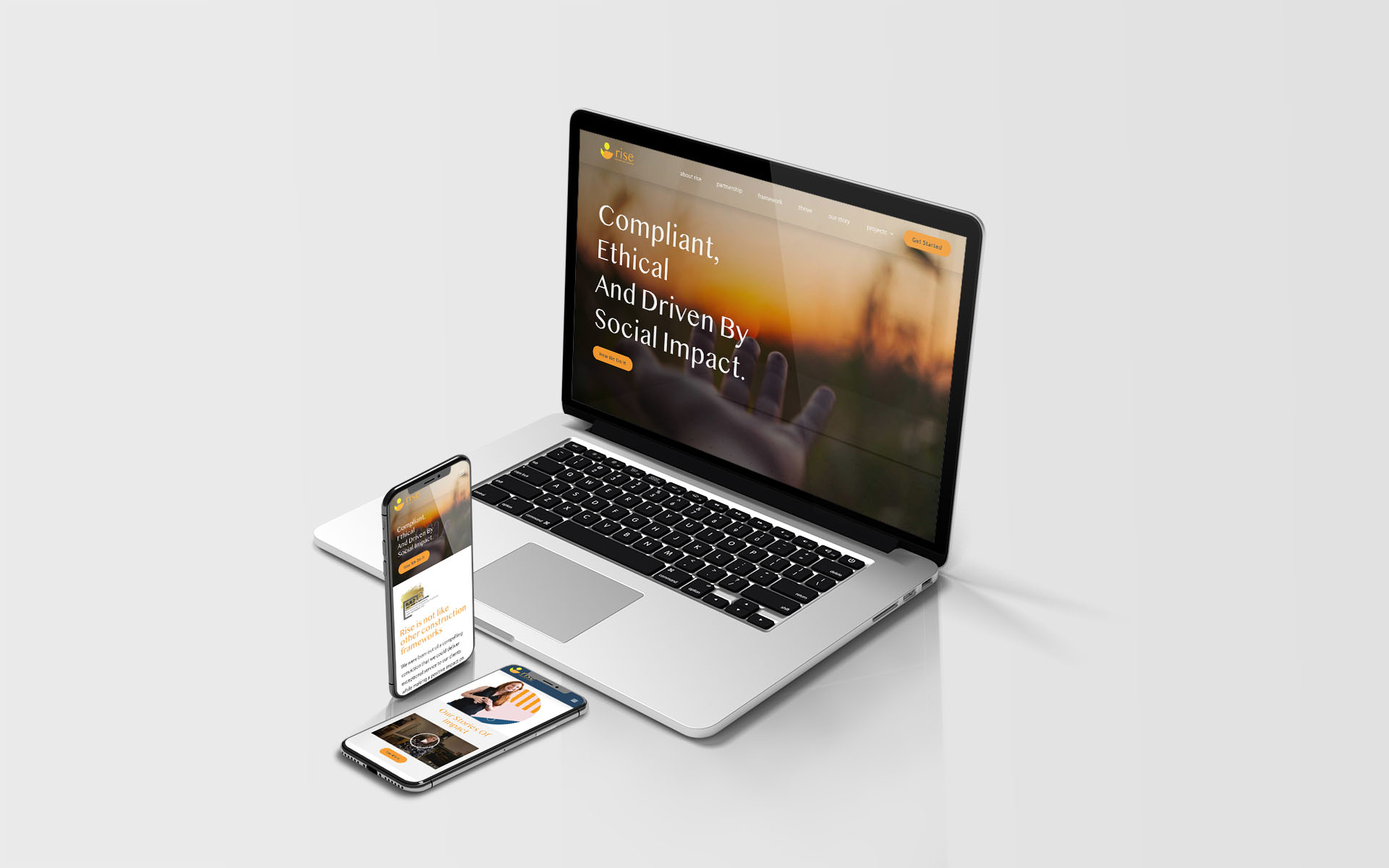 Rise - Creative Partner branding client